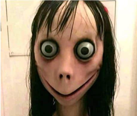 momo challenge face